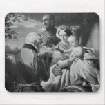 The First of May 1851, engraved by Werner Mouse Pad