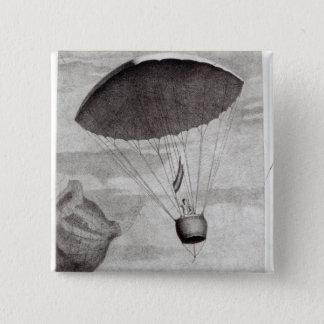 The First Parachute Descent Button