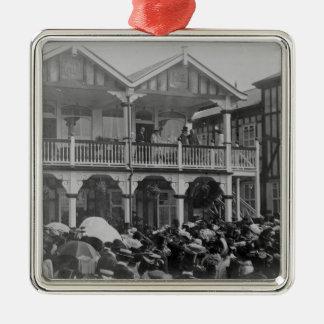The first Phoenix Park Races, 1903 Metal Ornament