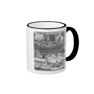 The First Plate of the Woollen Manufacture Ringer Coffee Mug