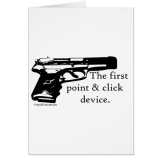The First Point & Click Device Card