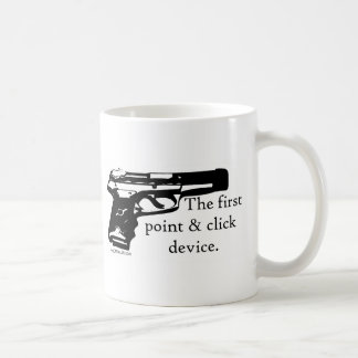 The First Point & Click Device Classic White Coffee Mug
