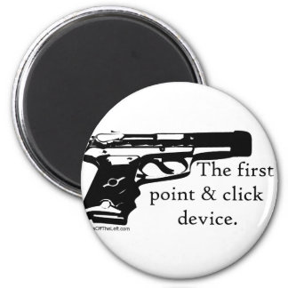 The First Point Click Device Refrigerator Magnet