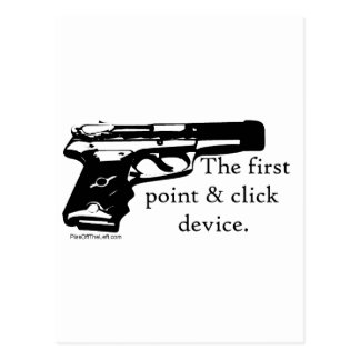 The First Point & Click Device Postcard