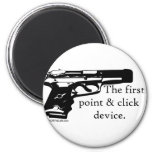 The First Point & Click Device Refrigerator Magnet