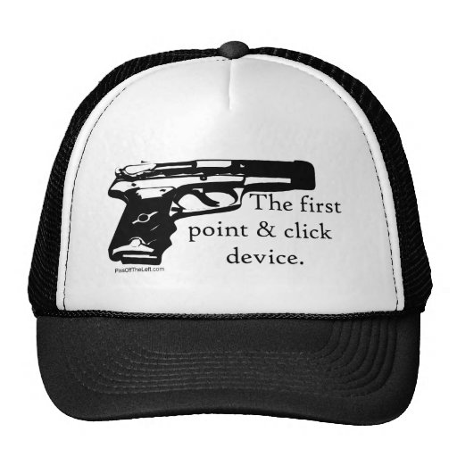 The First Point & Click Device Trucker Hat