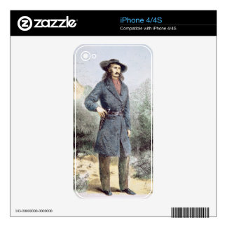 The first published picture of 'Wild Bill' Hickok Skin For The iPhone 4S