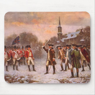 The First Resistance by Percy Moran Mouse Pad