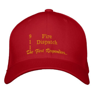 The First Responder Embroidered Baseball Cap