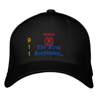 The First Responder Embroidered Baseball Caps