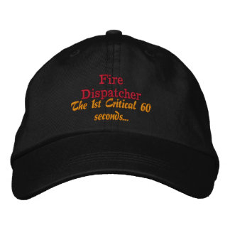 The First Responder Embroidered Hat