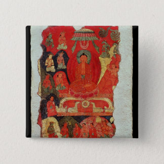 The First Sermon of Buddha Button