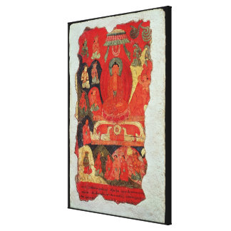 The First Sermon of Buddha Gallery Wrap Canvas