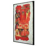 The First Sermon of Buddha Canvas Print