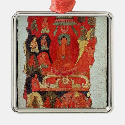 The First Sermon of Buddha Metal Ornament