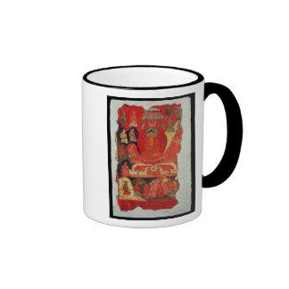 The First Sermon of Buddha Mugs