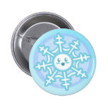 The First Snowflake Button