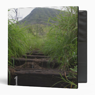 The first step invites hikers up Koko Crater 3 Ring Binder