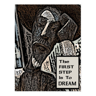 The First Step Postcard