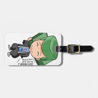 The first tatami mat recent English story Luggage Tag