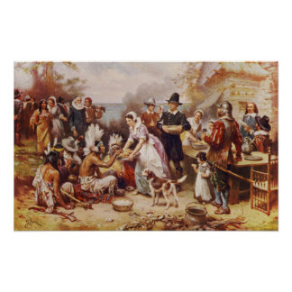 The First Thanksgiving 1621 Poster