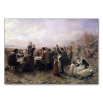The First Thanksgiving at Plymouth by Brownscombe Card