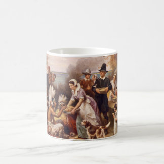 The First Thanksgiving Coffee Mug