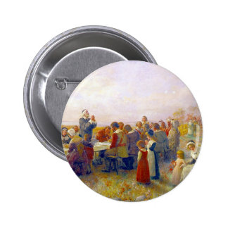 The First Thanksgiving Pinback Button