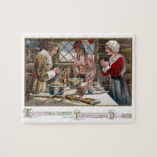 The First Thanksgiving Jigsaw Puzzles