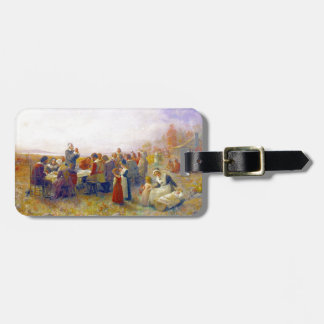 The First Thanksgiving Travel Bag Tags