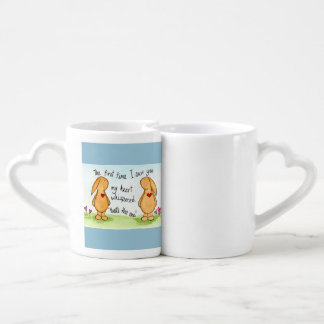 The first time I saw you ... Lovers Mugs