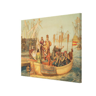 The First Voyage Canvas Print
