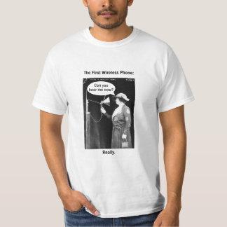 The First Wireless Phone Shirt