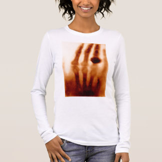 The First X-Ray, 1901, Photograph Long Sleeve T-Shirt