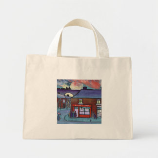 THE FISH AND CHIP SHOP MINI TOTE BAG