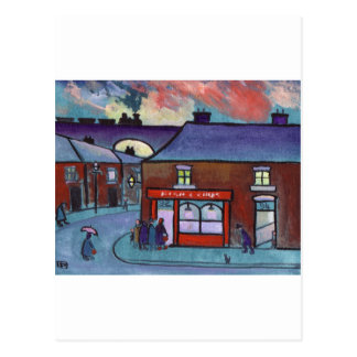 THE FISH AND CHIP SHOP POSTCARD
