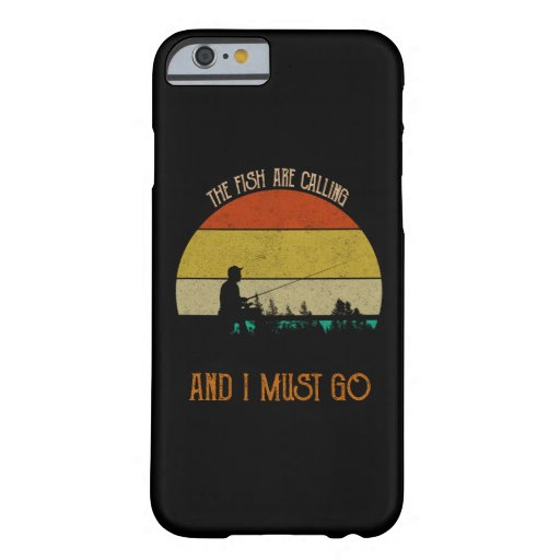 The Fish Are Calling And I Must Go Barely There iPhone 6 Case