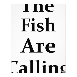 The Fish Are Calling Letterhead