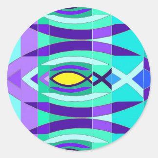 The Fish Classic Round Sticker