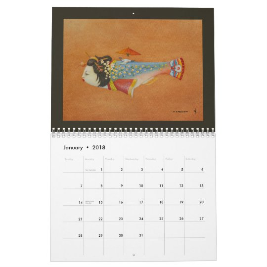 """the """"fish"""" collection calendar"""