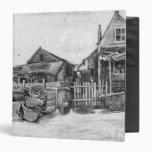 The fish drying barn at Scheveningen, c.1882 Vinyl Binders