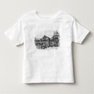 The fish drying barn at Scheveningen, c.1882 Toddler T-shirt