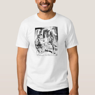 The fish footman t shirt