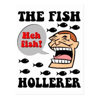 The Fish Hollerer Postcard