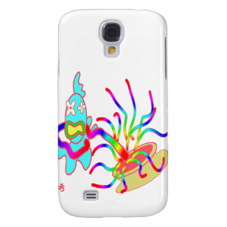 The fish is caught custom samsung galaxy s4 cover