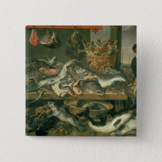 The Fish Market, 1618-21 Button