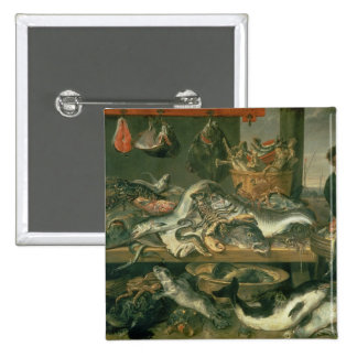 The Fish Market, 1618-21 Pin