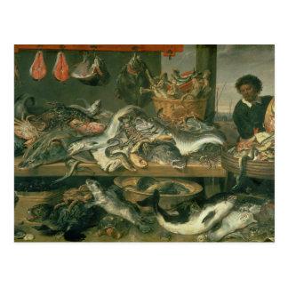 The Fish Market, 1618-21 Post Card