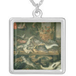 The Fish Market, 1618-21 Square Pendant Necklace