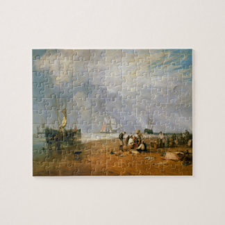 The Fish Market at Hastings Beach J. M. W. Turner Jigsaw Puzzle